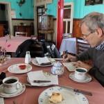 Dagelijkse terugkerende activiteient, dit keer in restarant Monte Carlo in La Reunion