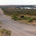 Uitzicht vanaf Ché's route over de vallei van de Rio Negro