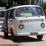 De bus van Leticia naar het Braziliaanse Tabatinga