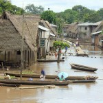 Het dorp is goed op overstromingen voorbereid