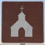Bezienswaardige kerk op komst Chile