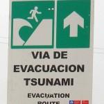 Via de evacuacion tsunami Chile