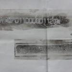 Mooie afdrukken van het frame- en motornummer van Maxima