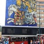 Wandschildering Simon Bolivar