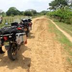 De laatste kilometers over de Zuid-Amerikaanse piste