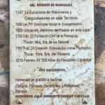 De geschiedenis van de Nuestra Señora del Rosario kerk