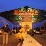 De Venezolaanse grenspost